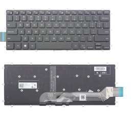 Πληκτρολόγιο - Keyboard Laptop DELL Inspiron 15 5568 5578 5579 7560 7569 7572 7579 7566 7567 0M9DMK PK131Q12B01 NSK-EB0BC 01 US (Κωδ.40482USNOFRAME)