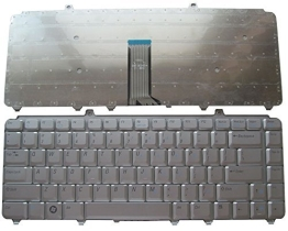 Πληκτρολόγιο Laptop Dell Inspiron  1420 1520 1521 1525 1526 1540 1545 1410 1525 1525se 1526 1526se 1530 1540 0MU201 MU201 XPS M1330 M1530 M-1330 M-1530 M1530 Vostro 1000 1400 1500 series PP22L 1318 1545 PP29L US VERSION SILVER KEYBOARD(Κωδ.40081USSILVER)