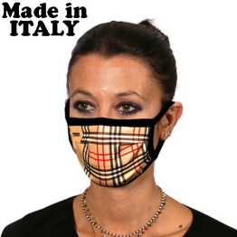 ITATI FACE MASK ADULT TARTAN