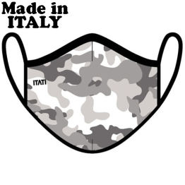 ITATI ADULT MASK AIR CAMOUFLAGE GREY