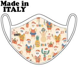 ITATI ADULT MASK AIR XMAS